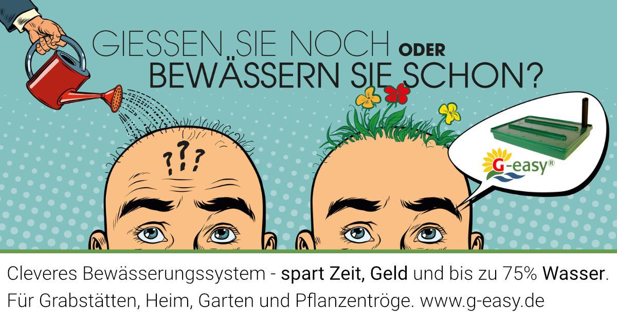 G Easy Sparsame Bewässerung Gräber Heim Garten Pflanzentröge